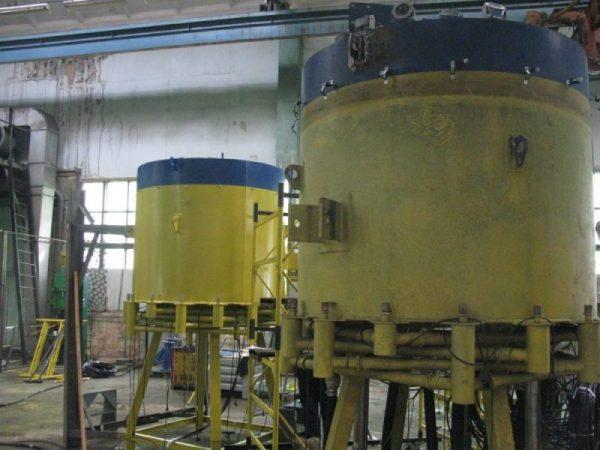 Будівництво фонтанів в акваторії Русанівського каналу