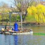 Фахівці «ЕНЕРГО-ІНВЕСТ» рятують озеро Тельбін — проводять аерацію водойми
