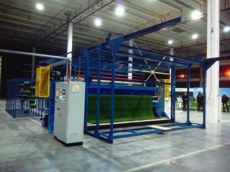 Будівнцтво заводу з виготовлення штучного покриття для спортмайданчиків